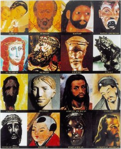 Different Faces of Jesus